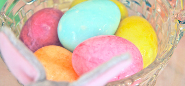 Pastel Alabaster Eggs