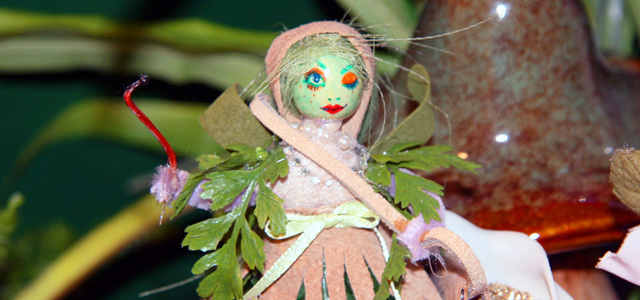 Holiday & Hearth Holiday and Hearth craft blog Lisa Anne Novelline fairy summer solstice litha fairies