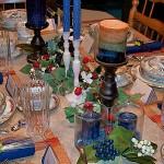 August Family Fair Main Dining Table Décor