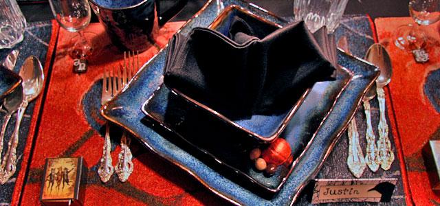 Late Harvest Place Setting Holiday & Hearth Holiday and Hearth Lisa Novelline Lisa Anne Novelline author writer The Dance of Spring craft blog creative blog creativity decorator blog festival celebration summer seasons nature blog Samhain Autumn Harvest Season Season of the Witch October Halloween reflection crow raven