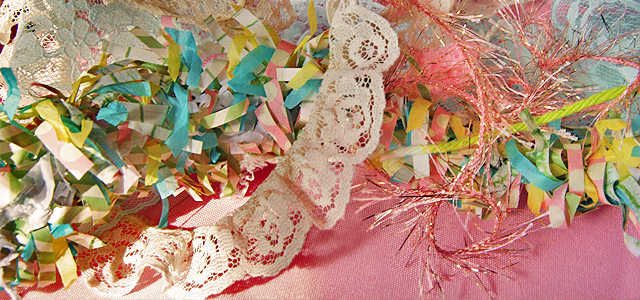 Holiday & Hearth Holiday and Hearth Lisa Novelline Lisa Anne Novelline author writer The Dance of Spring craft blog creative blog creativity blog festival celebration seasons nature blog spring equinox ostara DIY party hats hat template lace pom poms rick rack pastel pink gingham polka dots kids sunny fun children
